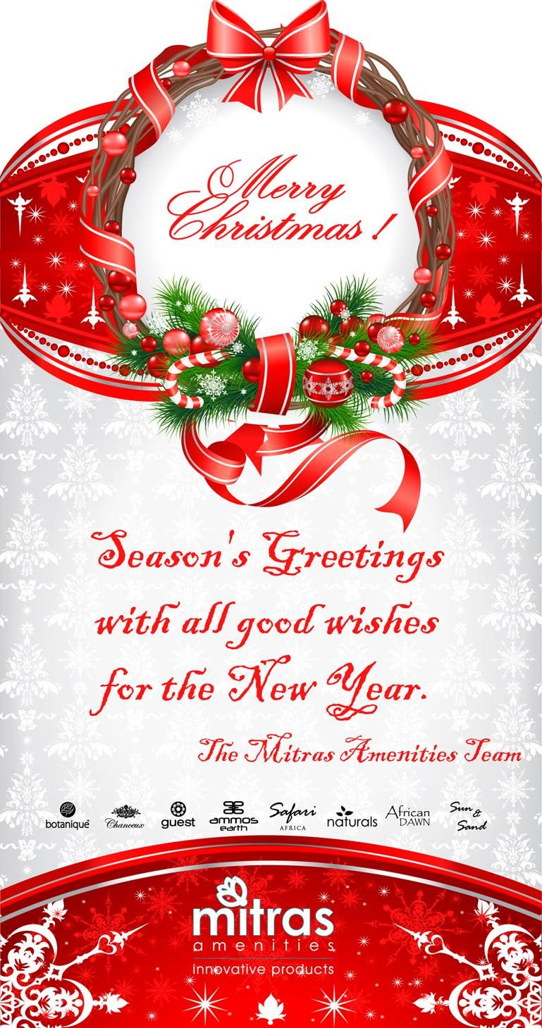 Seasons Greetings Mitras Amenities